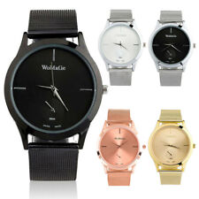 New Luxury Fashion Women Ladies Stainless Steel Casual Dress Quartz Wrist Watch