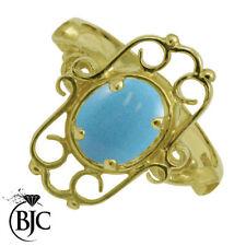 Turquoise Engagement Fine Gemstone Rings