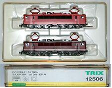 TRIX 12506– COPPIA LOCO ELETTRICHE BR 155 ex DR-DB- EP. V