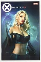 House Of X #1 Shannon Maer TRADE Variant Cover EMMA FROST 1st Print GEMINI