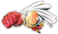 "One Punch man 6"" Width Anime Decal Sticker for Car Window Motor Bumper 002"