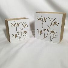 """Storage/Trinket Box - Set of 2 """"Bird Design"""""""