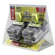 Ryobi 18V ONE+ 5.0Ah Twin Battery Pack Overload protection On-board LED