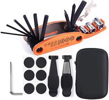 kit de herramientas para bicicletas Multifuncional con estuche Con PEGAMENTO