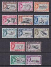 Ascension Island 1956 Used FU Full Set 13 values Definitives Birds Crabs Turtles