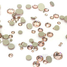 144 pcs Mixed Sizes Swarovski 2058/2088 Crystal Flatbacks (Pick your Colors)