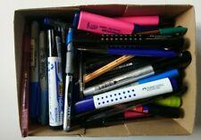 More details for 100 pens quality job lot uni ball bic pentel papermate staedtler faber castell