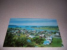 1960s AERIAL TOWN/VILLAGE VIEW of Le BIC QUEBEC VTG PHOTO POSTCARD