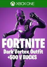 RAFFLE/TOMBOLA Fortnite Dark Vertex Bundle +500 V-Bucks | Xbox One | CODE