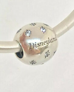 Authentic Pandora Disney Parks Disneyland Resort Charm #791433CZ+Box