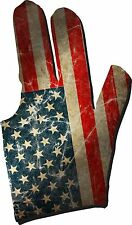 Triangle Dreamz Old Glory Billiard Glove (Right)