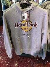 Hard Rock Cafe NEW YORK city gray sweat shirt brand new Large or X Large