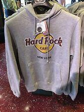 Hard Rock Cafe NEW YORK city gray sweat shirt brand new Small Medium