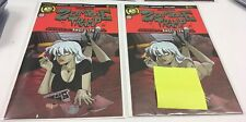 Zombie Tramp #60 Reg & Risqué Variant Set Action Lab Pulp Fiction Homage