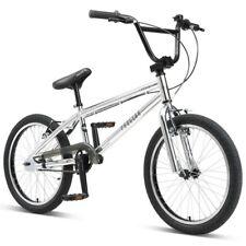 """Progear Torrid 20"""" BMX Bike Metallic Chrome"""
