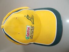 WALLABIES -  AUSTRALIAN RUGBY UNION BASEBALL CAP - CASTROL EDGE-1 SIZE FITS MOST