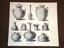 Vetraglie Romane Vasi e contenitori Roma Antica