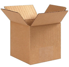 4x4x4 25 ct Cardboard Boxes Mailing Packing Shipping Box Corrugated Carton 32ect
