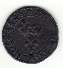 Dombes 1628 copper double tournois, Marie de Bourbon-Montpensier
