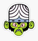 Power Puff Girls cartoon cute Mojo Domo Sticker decal car laptop cute