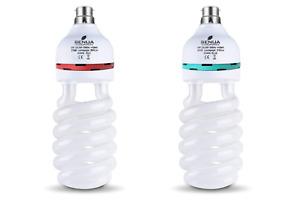 Senua 45w CFL Bulb Grow (6400K) + Flower (2700k) Hydroponic Light