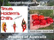 5 x Trinidad Scorpion Butch T chilli chili seeds. 1.4 Million Scovilles EXTREME