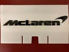 Mclaren 570s 570GT 600LT 720s Gloss Black Rear Emblem / Lettering