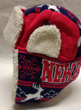 New England Patriots Team Color City Name Trooper Hat - Warm & Well Made!! WOW!!