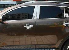 Genuine Kia Sportage 2011+ Stainless Steel B Pillar Trims - SL09107001