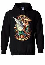 Disney Princess Tinkerbell Fairy Hoodie Sweatshirt Jumper Men Women Unisex 126