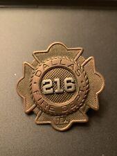 Dallas Texas Fire Badge