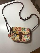 Dooney & Bourke multicolor mini crossbody purse.