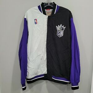 Mitchell & Ness Authentic NBA 1995 Sacramento Kings Pre Game Warm Up Jacket 44 L