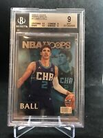 LaMelo Ball 2020-21 NBA Hoops Rookie Special RC Hornets BGS 9 Rare