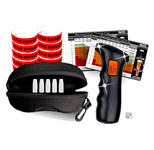 Alcohol Breathalyzer w/ Digital Lcd Party Supplies Kit Set Gifts for Men Women