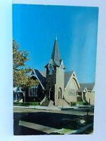 Cape May New Jersey First Presbyterian Church Postcard