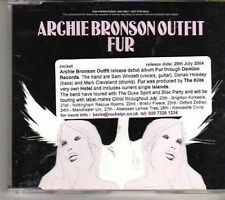 (CR603) Archie Bronson Outfit, Fur - 2004 DJ CD