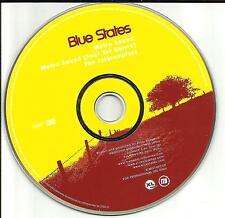 BLUE STATES w/ FOUR TET Metro Sound w/ RARE REMIX PROMO DJ CD Single 2002