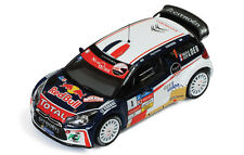 1/43 Citroen DS3 WRC  Red Bull  Winner Rally Chablais 2013  S.Loeb & S.Loeb