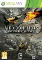 Air Conflicts Secret Wars - Xbox 360 Game + Manual - UK PAL