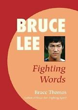 New, Bruce Lee: Fighting Words, Bruce Thomas, Book