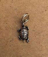 Vintage Sea Turtle Sterling Silver Charm