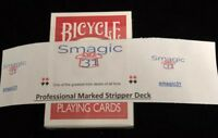 Professional MARKED Red Bicycle Stripper deck!