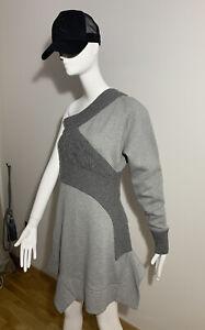 Burberry 100% Genuine RUNWAY Cable Knit Panel Sweatshirt Dress UK 8 BNWT RRP£995