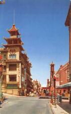 Chinatown, Grant Ave, San Francisco, CA American President Lines c1950s Postcard