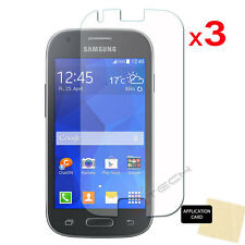 3x CLEAR LCD Screen Protector Covers For Samsung Galaxy Ace Style LTE SM-G357FZ