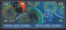 Papua-Neuguinea 1988 ** Mi.572/73 Feuerwerk Firework Flaggen Flags [sq6002]