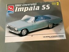 VINTAGE AMT 1/25 SCALE 1962 CHEVROLET IMPALA SS MODEL KIT