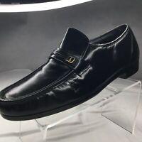 Florsheim Riva Moc Toe Bit Loafer Sz 14 Slip On Black Dress Shoe Formal New