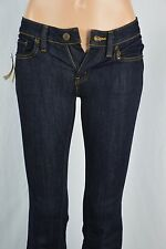 Ralph Lauren Womens 24x34 Dark Wash Flare Leg Cut Blue Jeans NEW